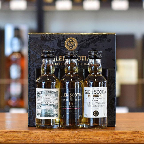 Glen Scotia Mini Gift Pack - 3x50ml NZ