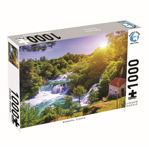 1000 Piece Jigsaw - Dalmatia Croatia NZ