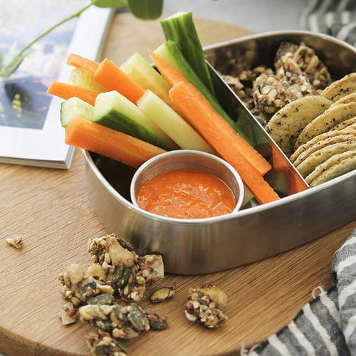 Stainless Steel Bento Snack Box - Ever Eco NZ