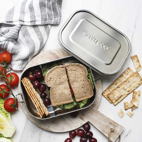 Stainless Steel Bento Lunch Box with Removable Divider - Ever Eco NZ