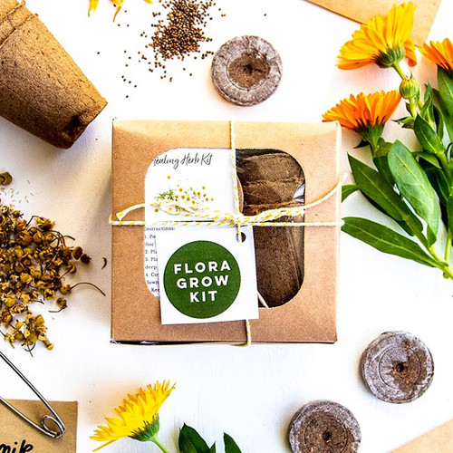 Flora Healing Herb Kit - Flora Grow NZ