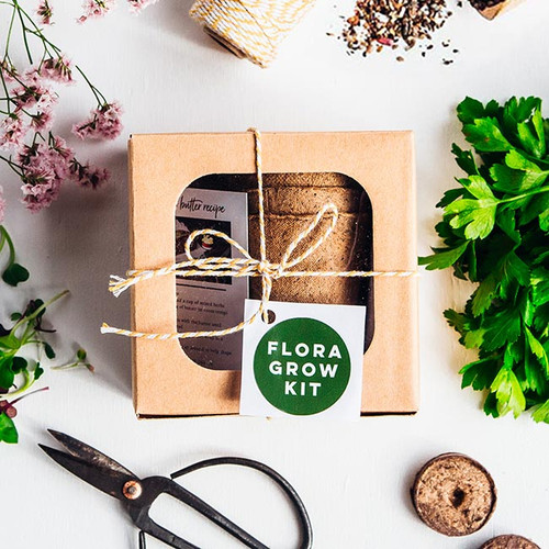 Flora Kitchen Herb Kit - Flora Grow NZ