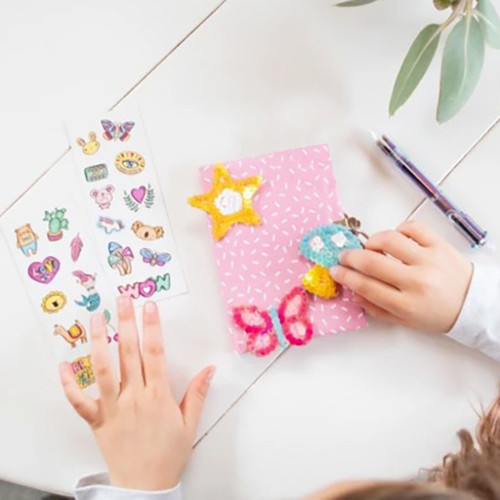 Journal Kit - Sequins Stickers