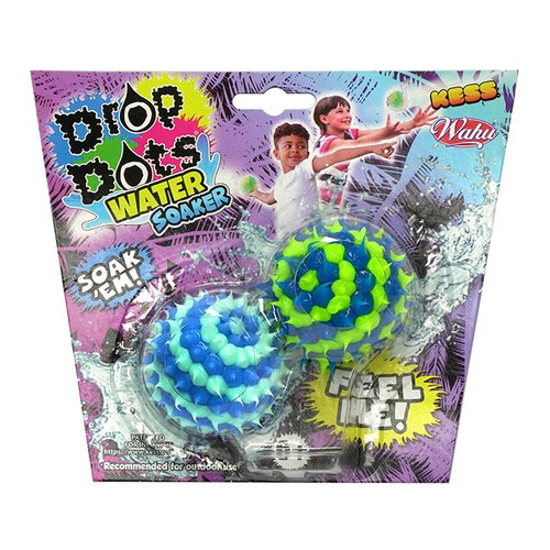 Kess Drop Dot Water Soaker - 2 Pack