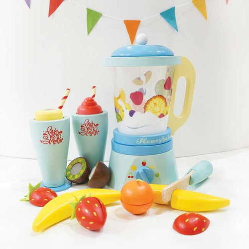 Le Toy Van Blender & Wooden Fruit Set
