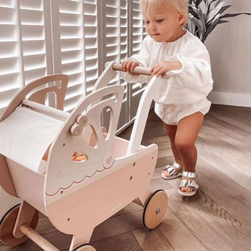 Le Toy Van Sweet Dreams Pram Pink