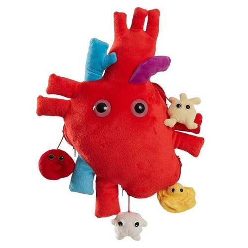 Giant Microbes: XL Heart Organ