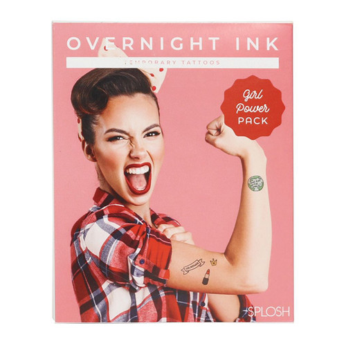 Overnight Ink: Girl Power