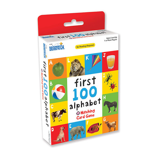 First 100 Matching Card Game Alphabet