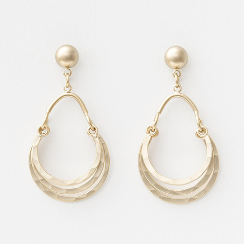 Matt Gold Carnival Earrings