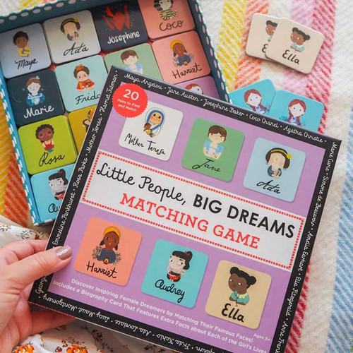 Little People Big Dreams Matching Cards