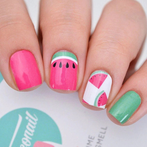 Personail Nail Polish Strips: Watermelon