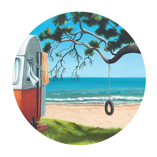 Graham Young: Tire Swing Placemat - 4pk