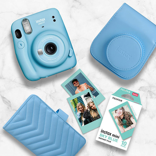 Instax Mini 11 Gift Pack - Sky Blue