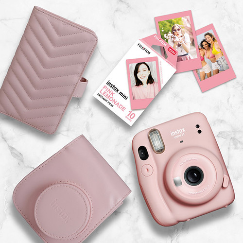 Instax Mini 11 Gift Pack - Blush Pink