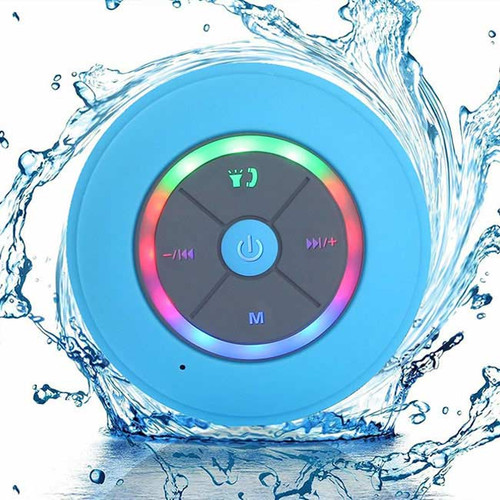 LED Bluetooth Bathroom Speaker