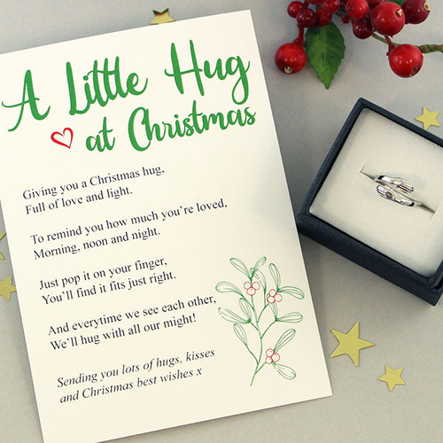 Christmas Hug Ring