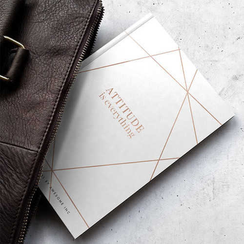 Attitude is Everything Mini Gratitude Journal - Awesome Inc NZ