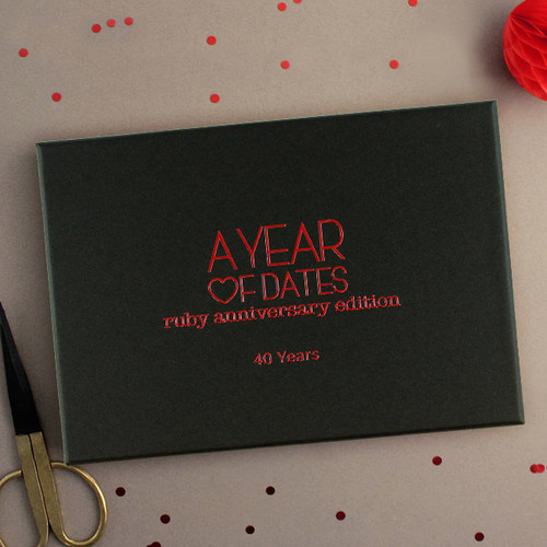 A Year of Dates: Ruby 40th Anniversary Edition