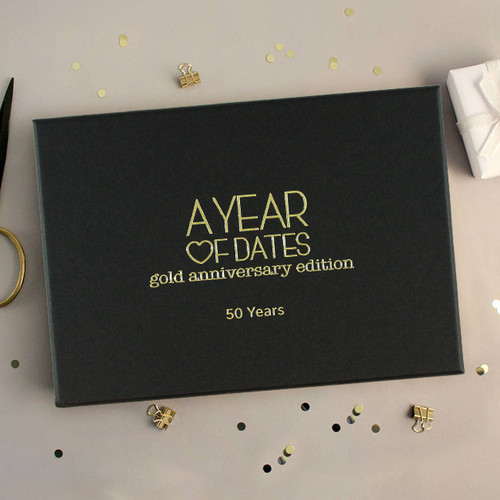 A Year of Dates: Gold 50th Anniversary Edition NZ