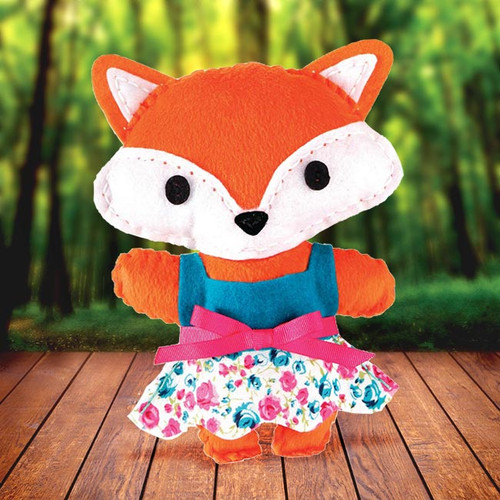 DIY Sewing Fox