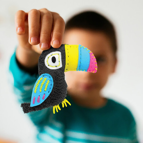 DIY Sewing Toucan Charm