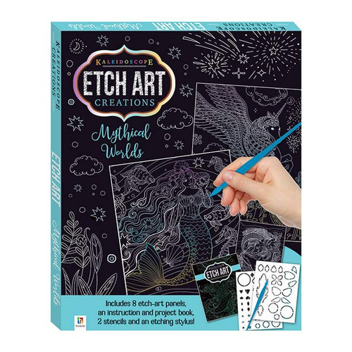Etch Art Mini Creations: Mythical Worlds NZ
