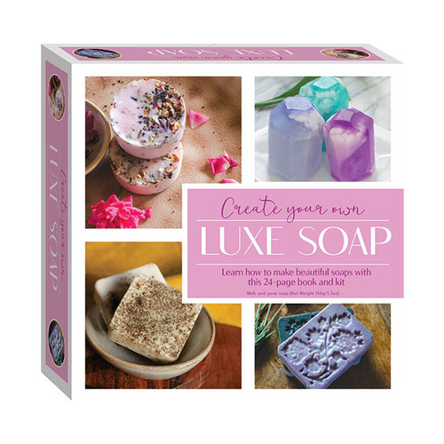 Create Your Own Luxe Soap Kit NZ