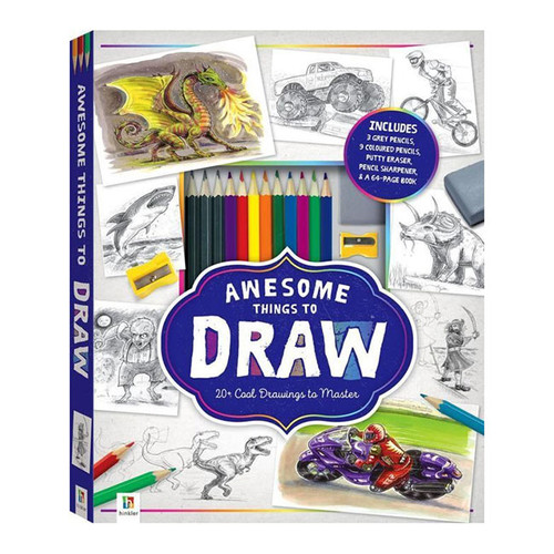 Awesome Things to Draw Kit NZ