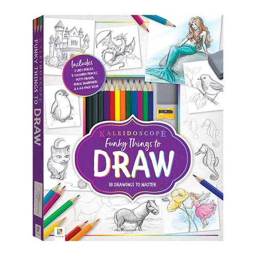 Funky Things to Draw Kit NZ