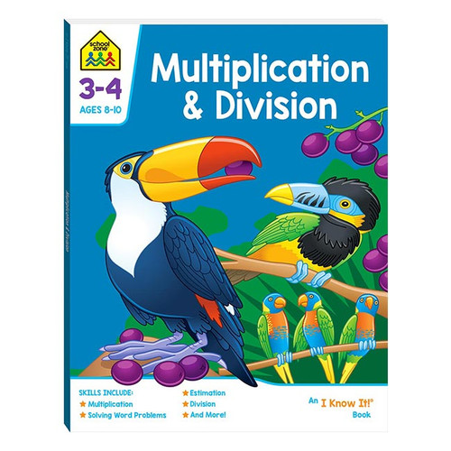 School Zone Multiplication and Division NZ
