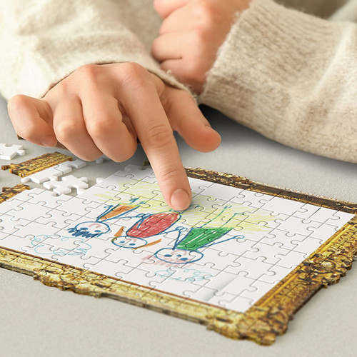Framed Drawing Jigsaw Puzzle - Pikkii NZ