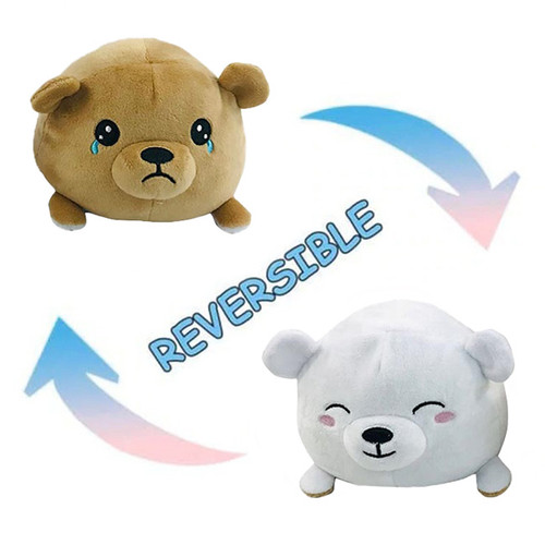 Reversible Mood Bear Plush NZ