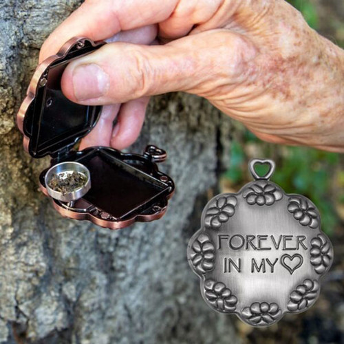 Eternity Letter Locket with Urn Compartment