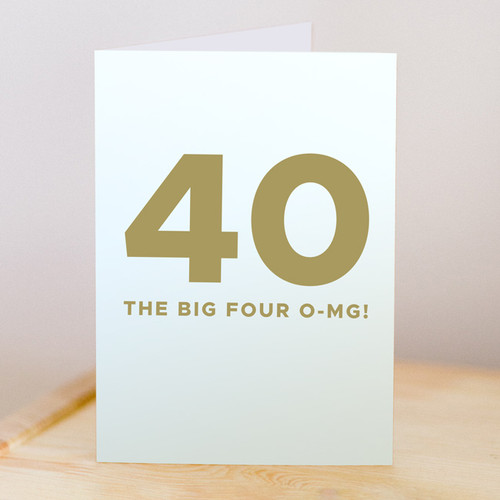 Big 4 O-MG Card