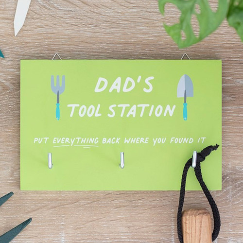 Dad's Tool Station with Hooks