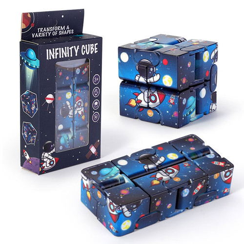 Space Rocket Infinity Cube