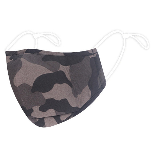 Adult Green Camouflage Reusable Face Mask
