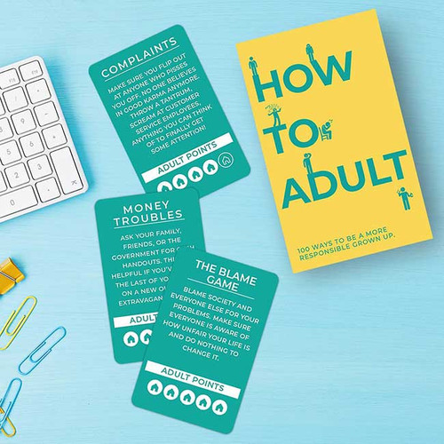 How to Adult Cards