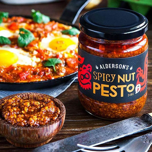 Spicy Nut Pesto