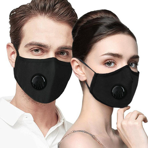 Black Valve Face Mask