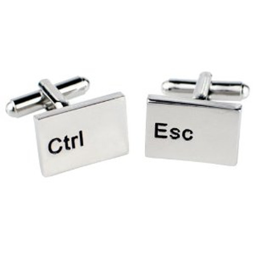 Control Escape Cufflinks
