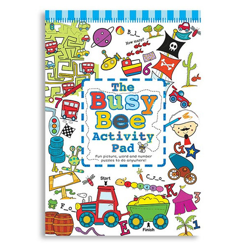 Busy Bee Activity Pad: Boy