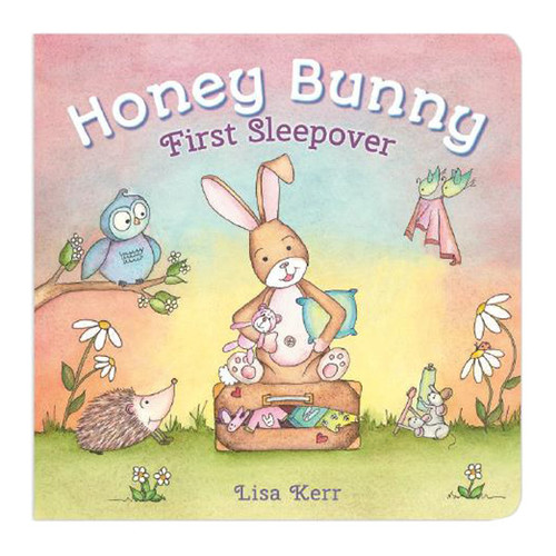 Honey Bunny First Sleepover Lift Flap Board Book