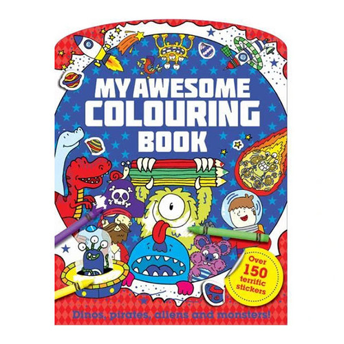 My Awesome Colouring Book