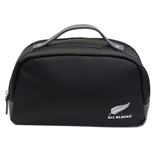 All Blacks PU Toiletry Bag