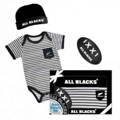 All Blacks 3 Piece Baby Gift Set