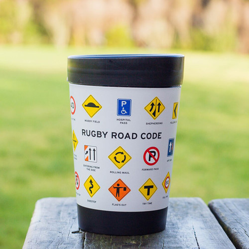 Rugby Road Code Cuppa Coffee Cup