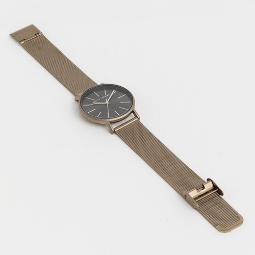 Chocolate Mesh Strap Watch