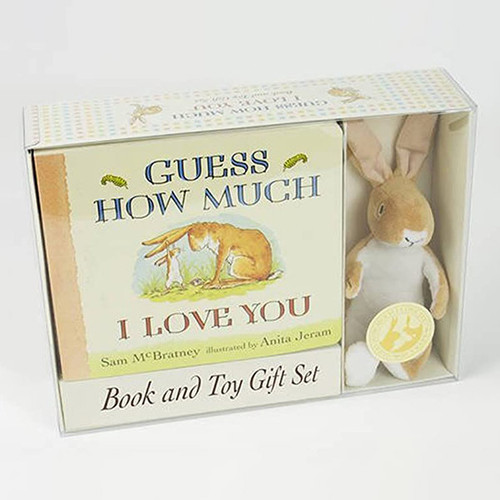 Guess How Much I Love You Toy and Book Gift Set